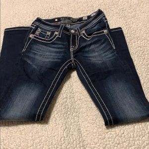 Miss me girls jeans  size 10